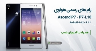 Official Roms for Huawei Ascend P7 P7-L10